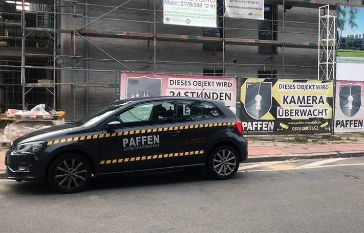 Baustellenbewachung in Bonn und Köln