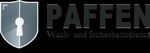 Logo Paffen Wachdienst und Sicherheitsdienst Bonn Köln